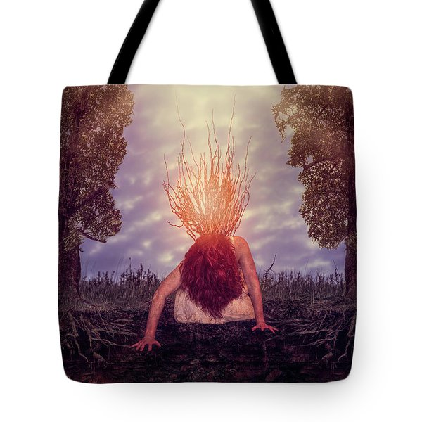 No Earthly Roots Tote Bag