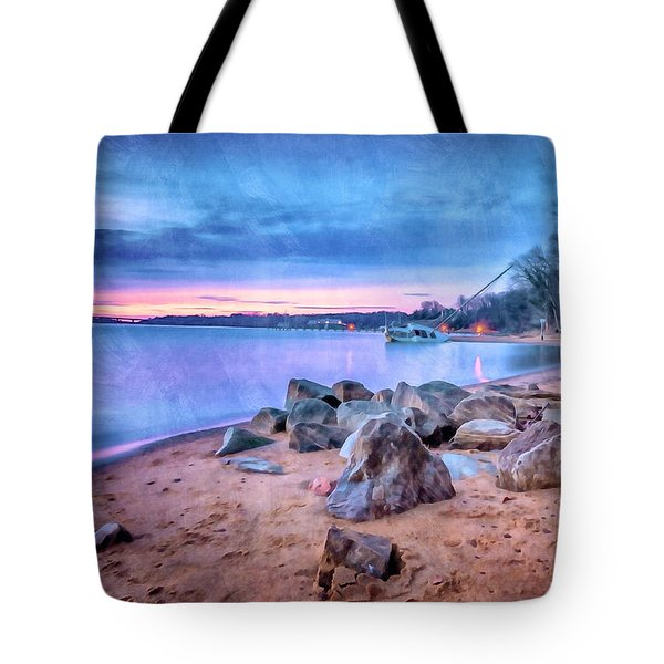 Tote Bag featuring the photograph No Escape by Edward Kreis