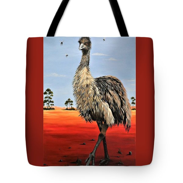 No Flies On Me Tote Bag