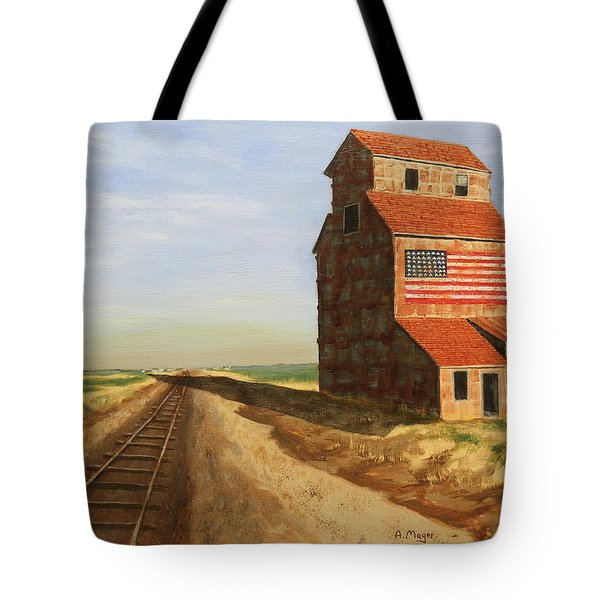 No Grain, No Train Tote Bag