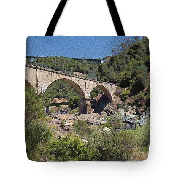 No Hands Bridge Tote Bag