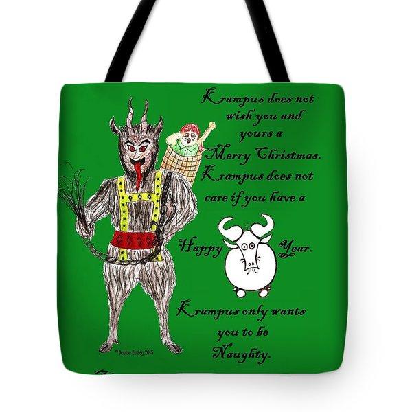No Happy Gnu Year Tote Bag