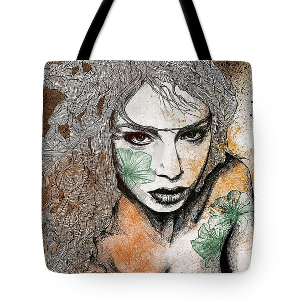 No Hope In Sight - Orange Tote Bag