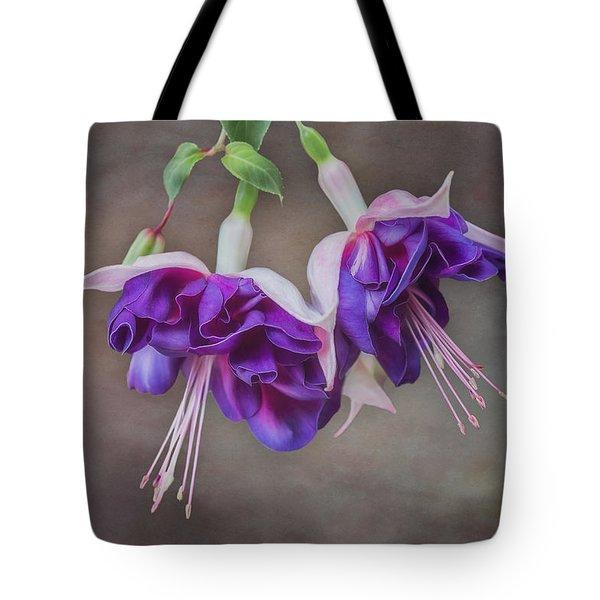 Purple Fuchsia Tote Bag