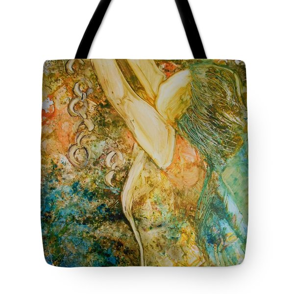 No Longer A Slave To Fear Tote Bag