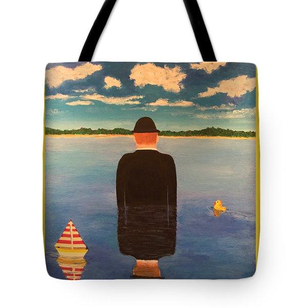 No Man Is An Island T-shirt Tote Bag