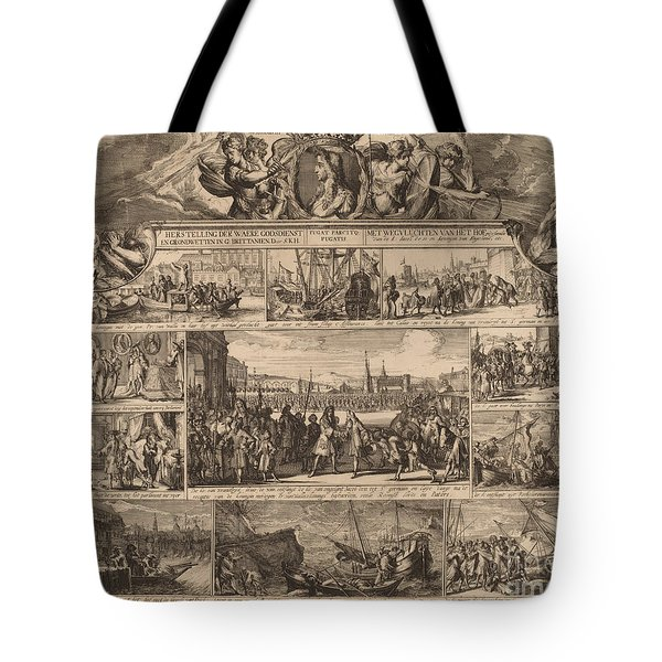 No Monarchy, No Popery Tote Bag