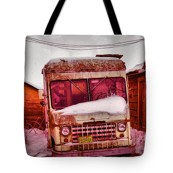 Tote Bag featuring the photograph No More Deliveries by Jeff Swan