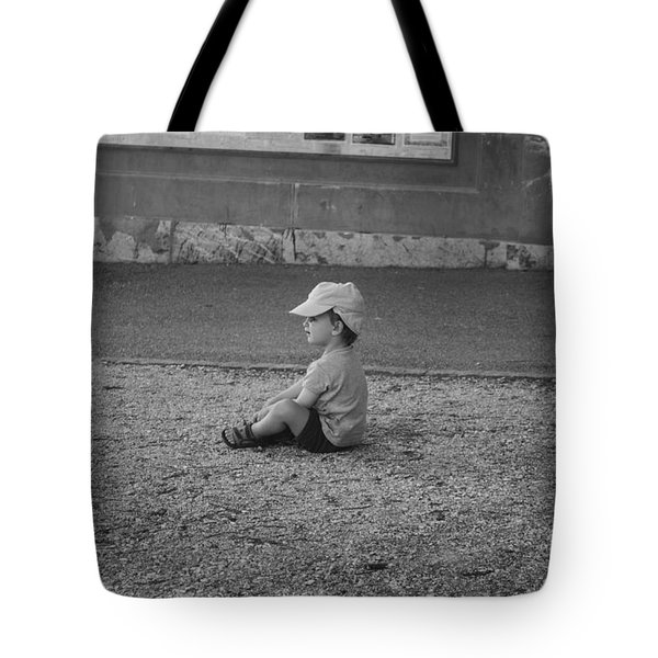 No More Walking For Today Tote Bag