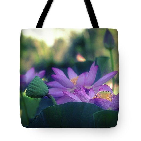 No Mud, No Lotus Tote Bag