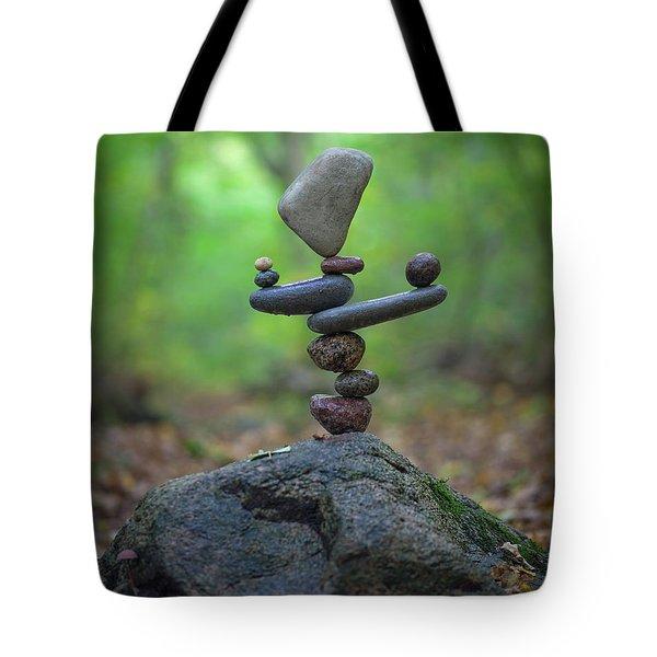 Zen Stack #5 Tote Bag