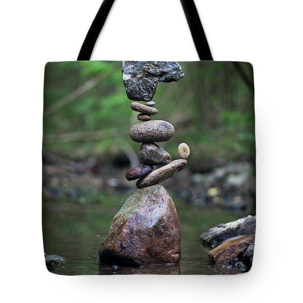Zen Stack #8 Tote Bag