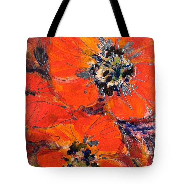 Magic Poppy Tote Bag
