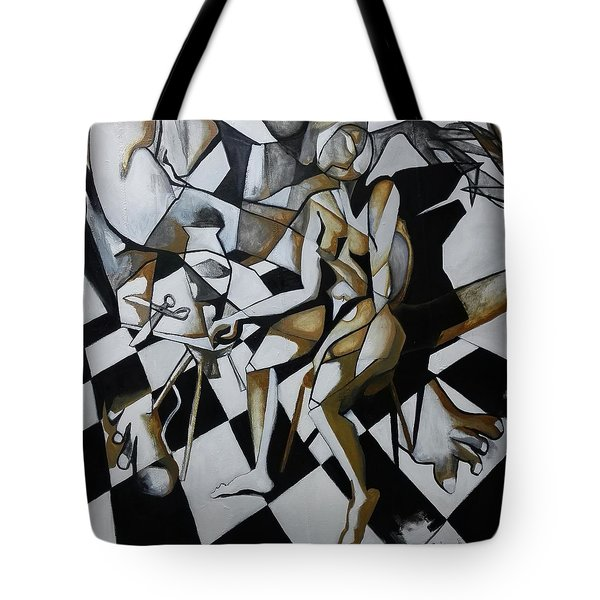 No Need For Violets Tote Bag