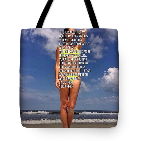 No Other Tote Bag by Lisa Piper