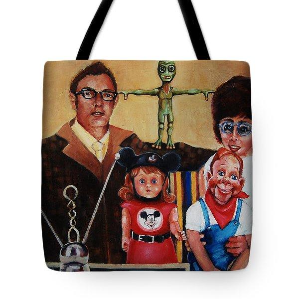 No Outside Realities Tote Bag