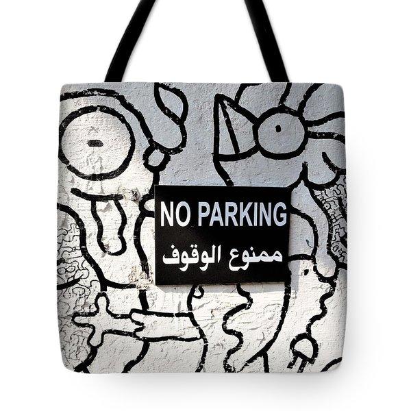 No Parking In Beirut  Tote Bag