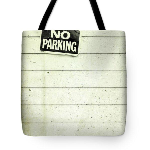 No Parking Tote Bag by Priska Wettstein