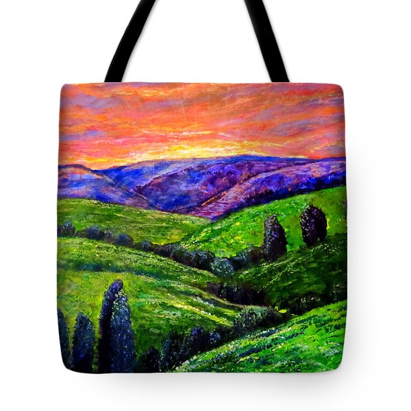 No Place Like The Hills Of Tennessee Tote Bag