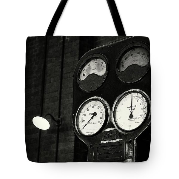 Tote Bag featuring the photograph No Pressure by Tim Nichols
