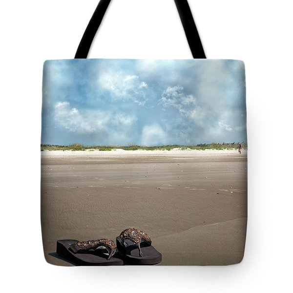 No Shoes Required Tote Bag