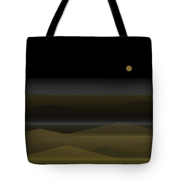 No Swimming After Dark Tote Bag by Val Arie