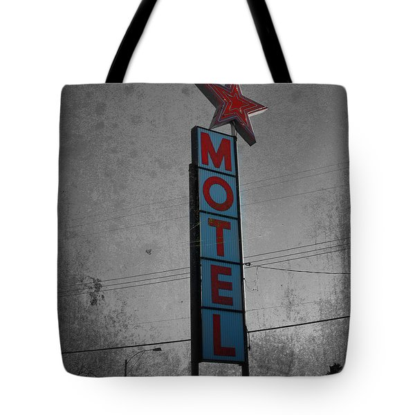 No Tell Motel Tote Bag
