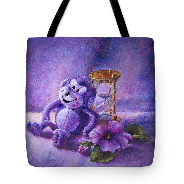 No Time To Monkey Around Tote Bag