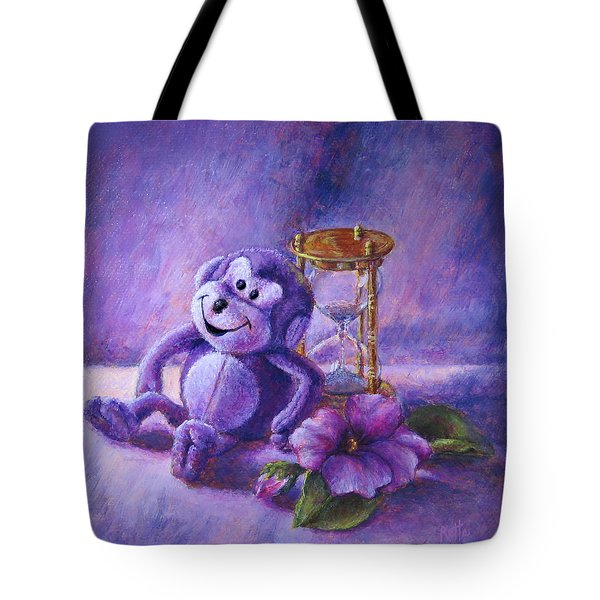 No Time To Monkey Around Tote Bag