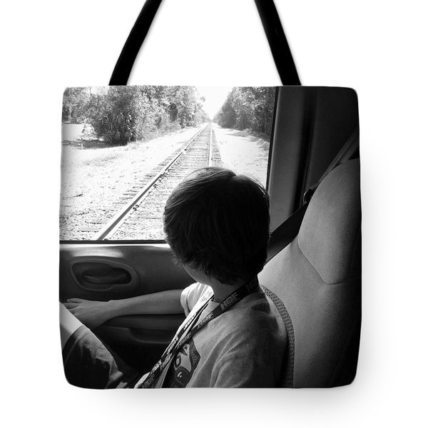 No Train Coming Tote Bag by WaLdEmAr BoRrErO
