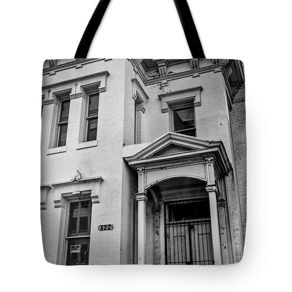 Tote Bag featuring the photograph No Trespassing by Ross Henton