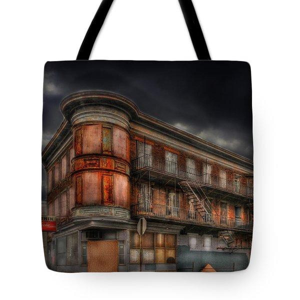 No Vacancy Tote Bag by Shelley Neff
