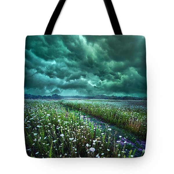 No Way Out Tote Bag by Phil Koch