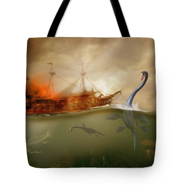 No Way Out Tote Bag by Surreal Photomanipulation