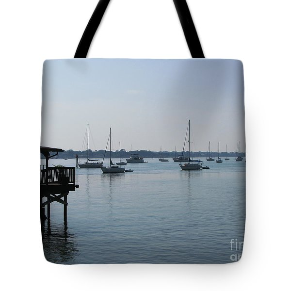 Tote Bag featuring the photograph No Wind by Greg Patzer