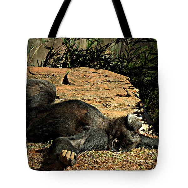 Tote Bag featuring the photograph No Worries by Jessica Brawley