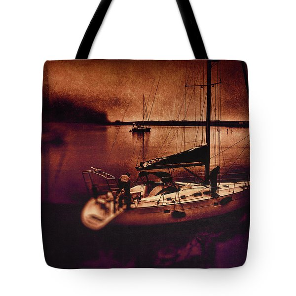 No Yesterdays On The Road Tote Bag