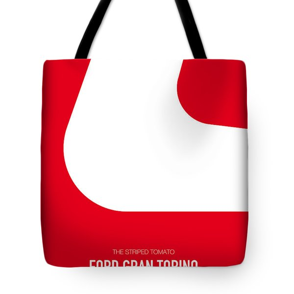 No003 My Starsky And Hutch Minimal Movie Car Poster Tote Bag