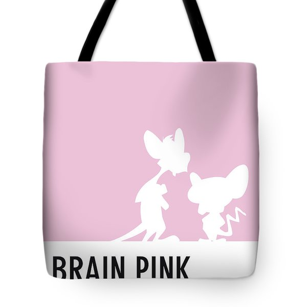 No01 My Minimal Color Code Poster Pinky And The Brain Tote Bag