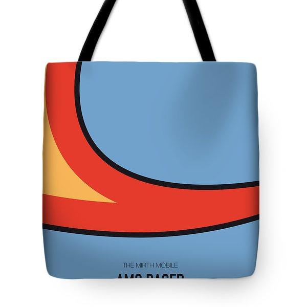 No010 My Waynes World Minimal Movie Car Poster Tote Bag