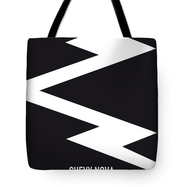 No012 My Death Proof Minimal Movie Car Poster Tote Bag