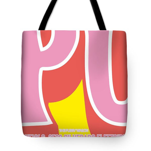 No013 My Kill Bill Minimal Movie Car Poster Tote Bag