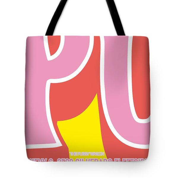 No013 My Kill Bill Minimal Movie Car Poster Tote Bag