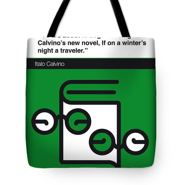 No014-my-if On A Winter's Night A Traveler-book-icon-poster Tote Bag