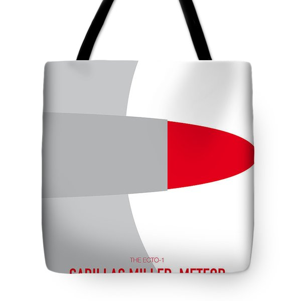 No015 My Ghostbusters Minimal Movie Car Poster Tote Bag