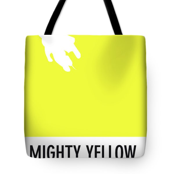 No02 My Minimal Color Code Poster Mighty Mouse Tote Bag