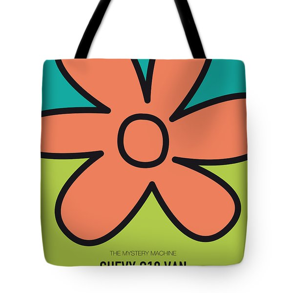 No020 My Scooby Doo Minimal Movie Car Poster Tote Bag by Chungkong Art