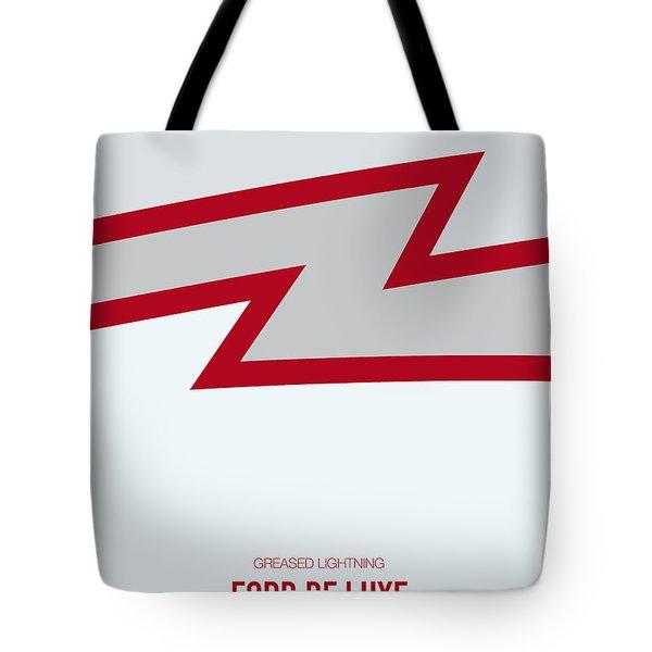 No022 My Grease Minimal Movie Car Poster Tote Bag
