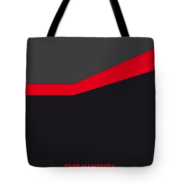 No023 My Ateam Minimal Movie Car Poster Tote Bag