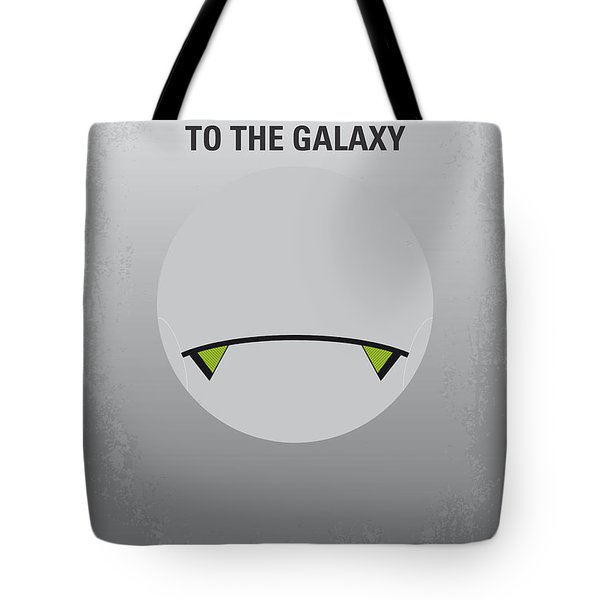 No035 My Hitchhiker Guide Minimal Movie Poster Tote Bag